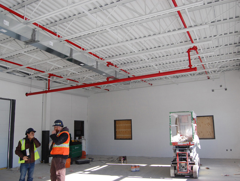 metal deck ceilings